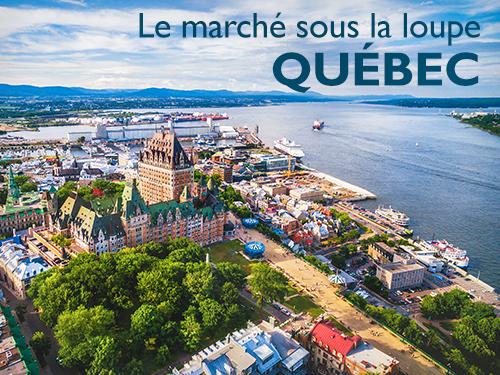 Le marché sous la loupe – Québec