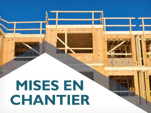 Les mises en chantier d'habitations sont demeurées stables en janvier