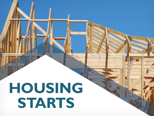 February Housing Starts trend lower