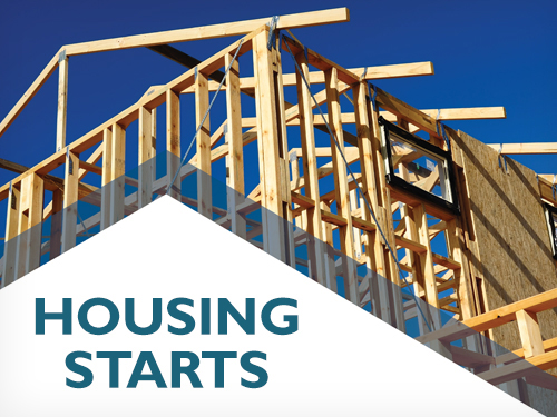 Canadian housing starts trend increases in July