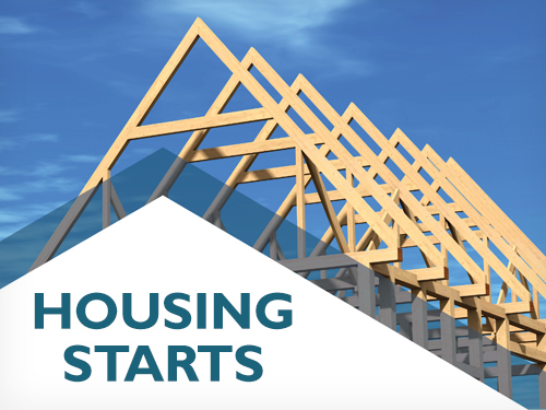 National housing starts trend increased in April