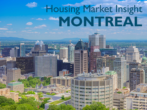 About 10% of Montréal homebuyers come from outside the area